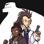 charlie and clow webcomic cover for first chapter