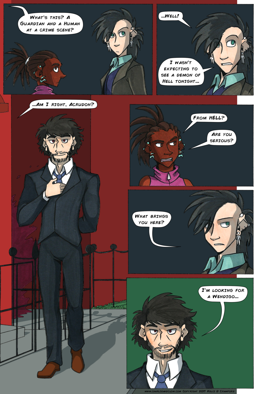 The Case of the Wendigo, Page 19