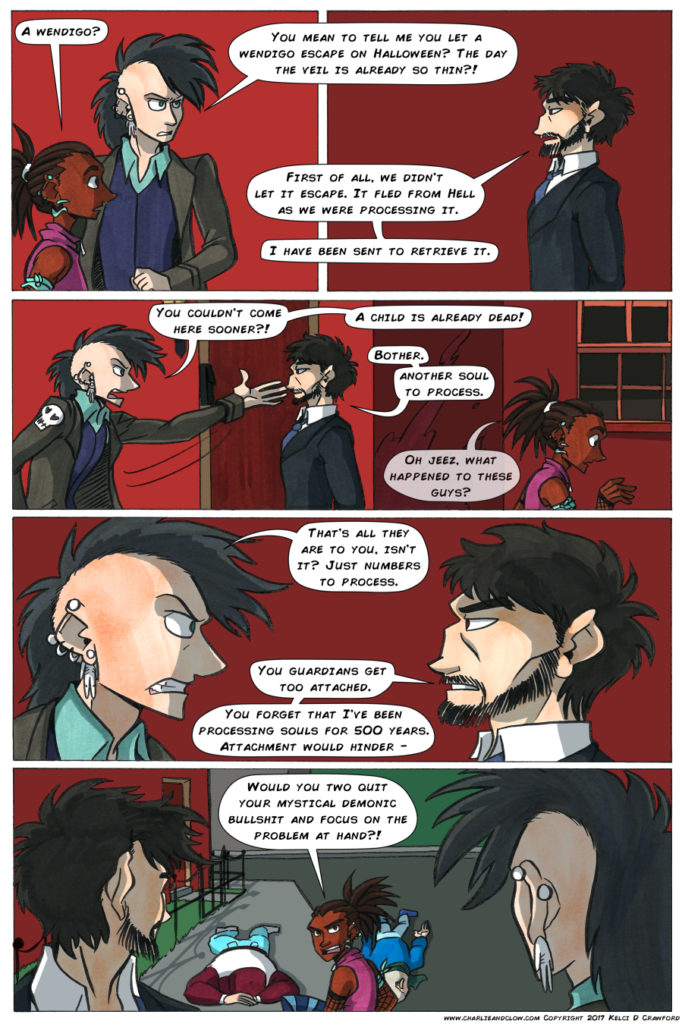 the case of the wendigo, page 20