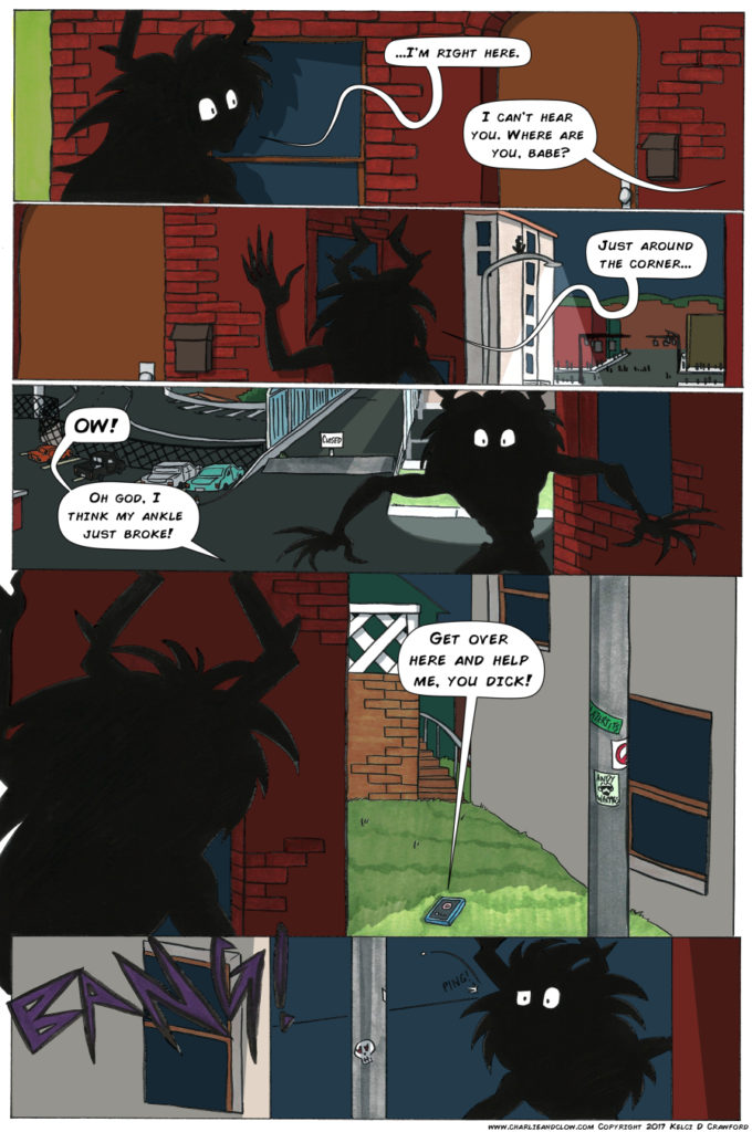 the case of the wendigo urban fantasy webcomic page 24