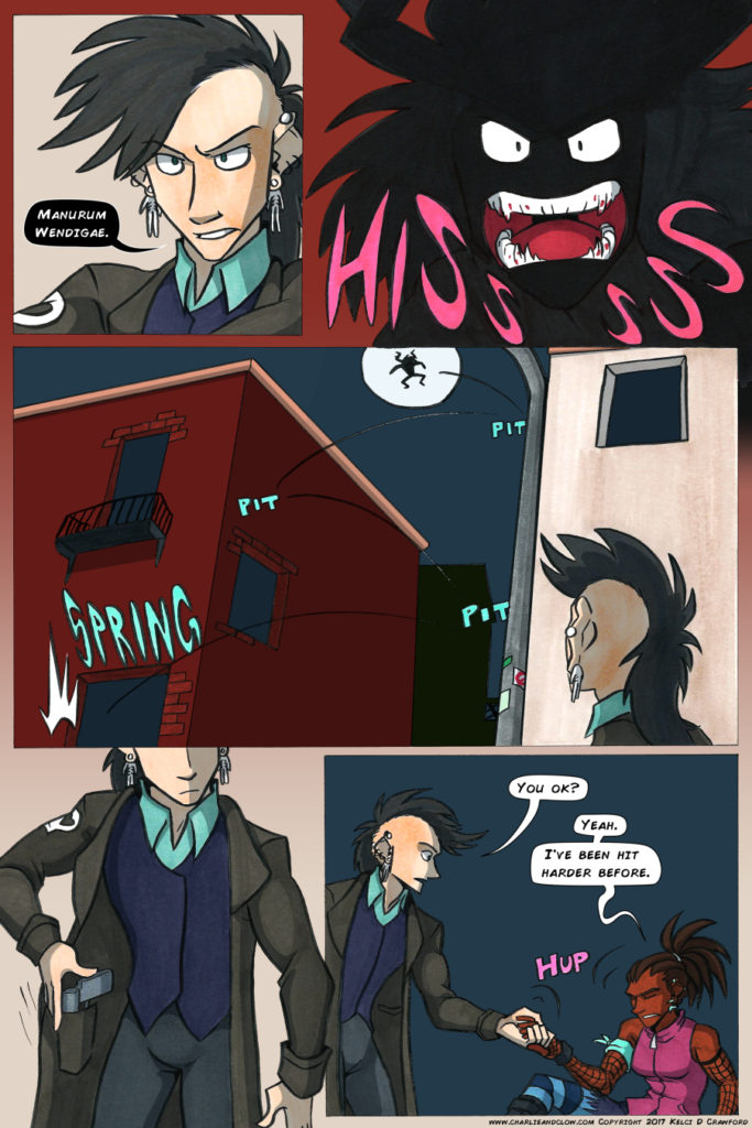 the case of the wendigo urban fantasy webcomic page 29