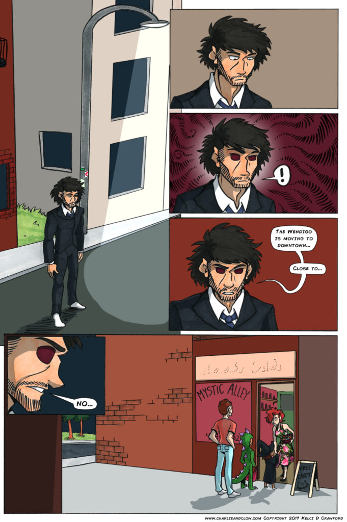 the case of the wendigo urban fantasy comic page 34