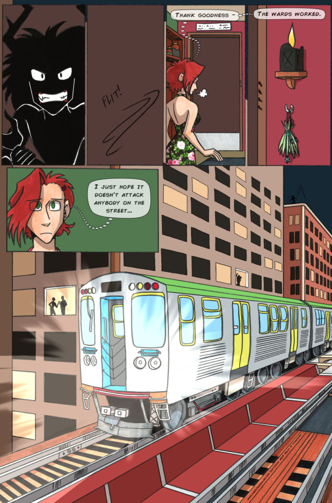 the case of the wendigo urban fantasy webcomic page 39