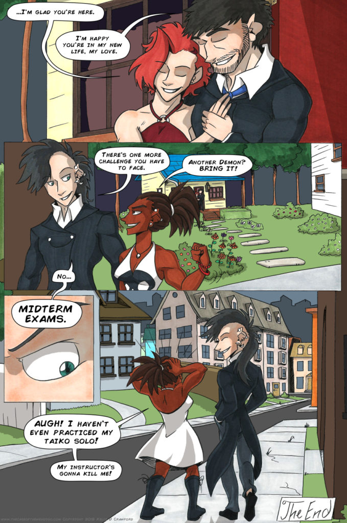 the case of the wendigo urban fantasy webcomic page 65
