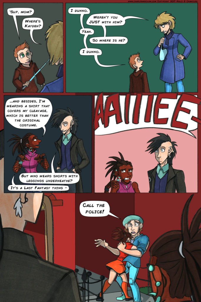 the case of the wendigo, page 14