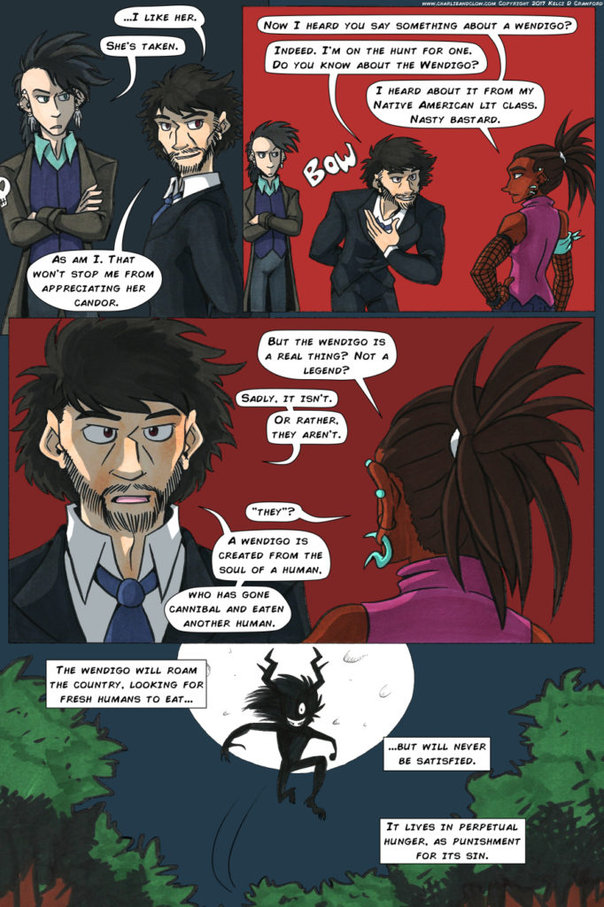 the case of the wendigo webcomic page 21