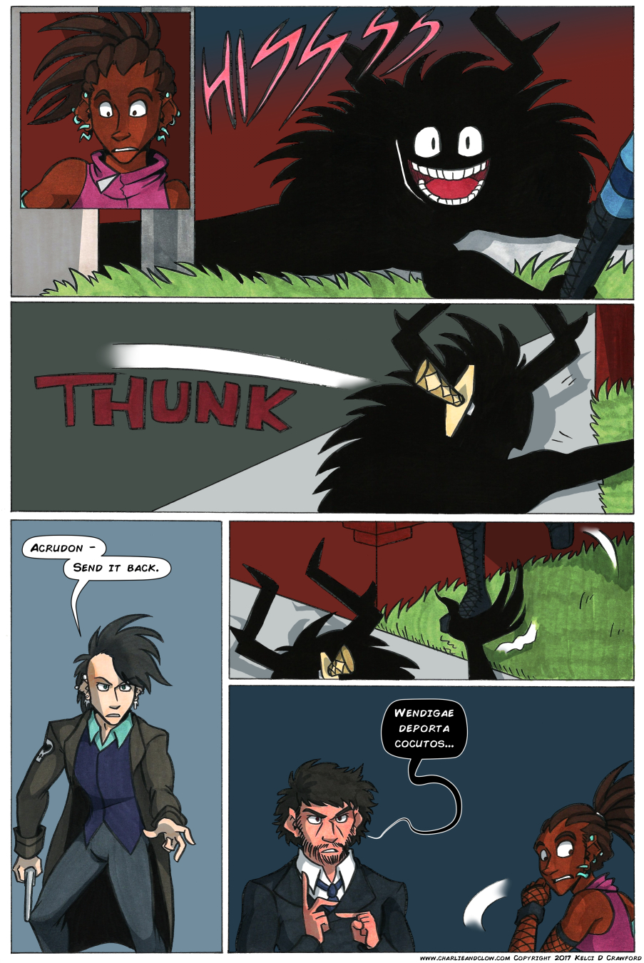 The Case of the Wendigo, Page 26