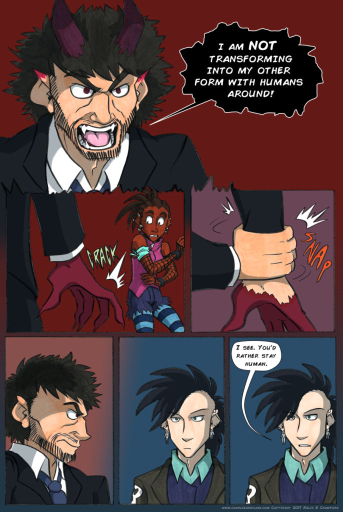 the case of the wendigo urban fantasy comic page 31