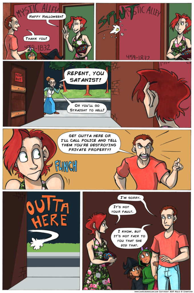 the case of the wendigo urban fantasy comic page 35