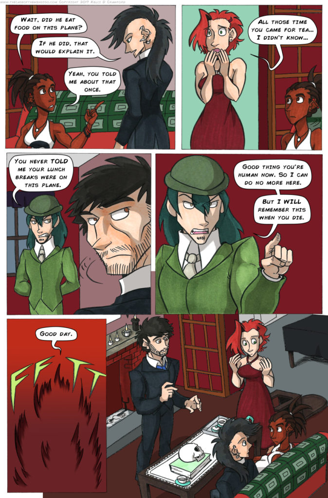 the case of the wendigo urban fantasy webcomic page 61