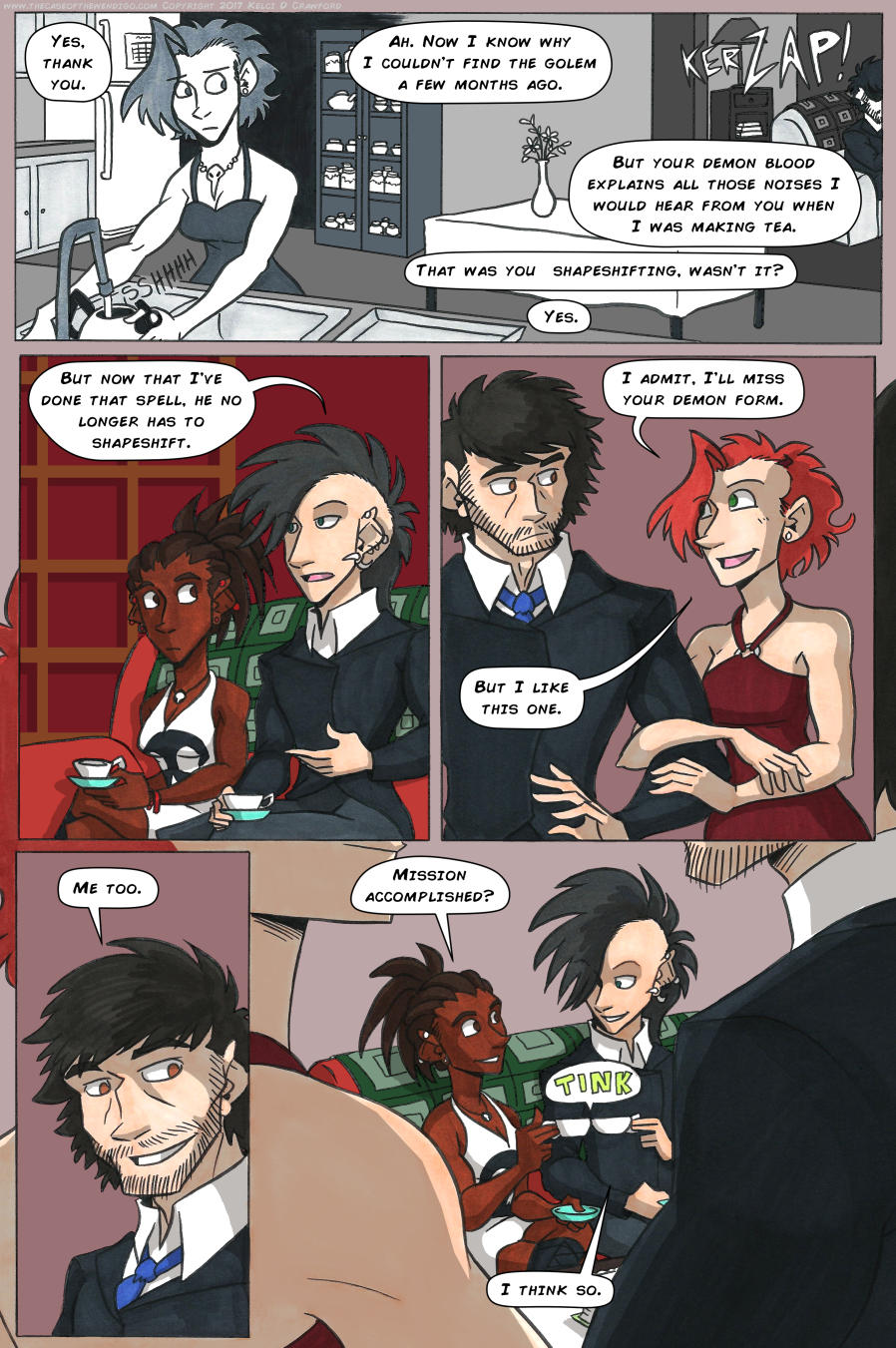 The Case of the Wendigo, Page 63